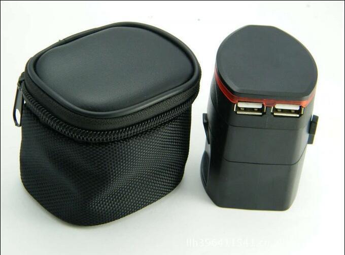 全球通用电源转换器万能转换插头USB出国旅行用插座