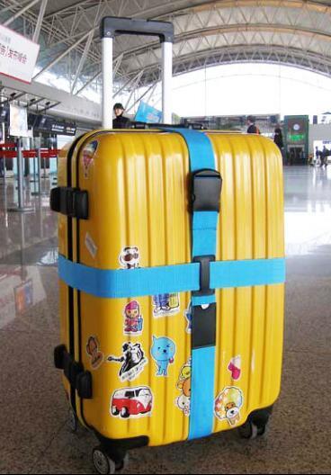 托运行李带 绑箱带 捆箱带 十字 打包带