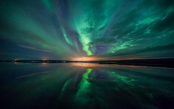 【外服聚焦】用镜头捕捉神秘的北极光